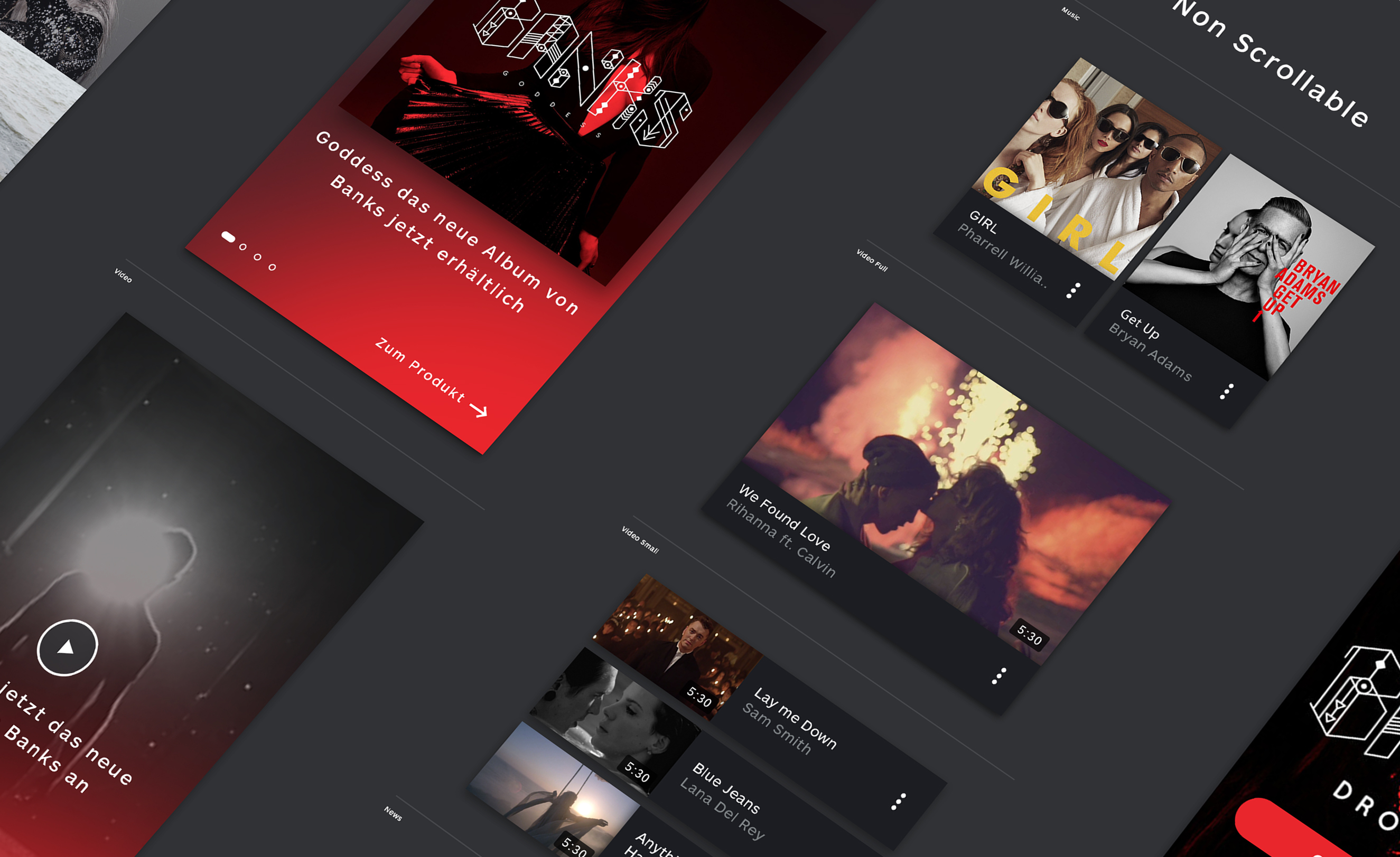 Isometric view on modules from Universal-Music Group Germany